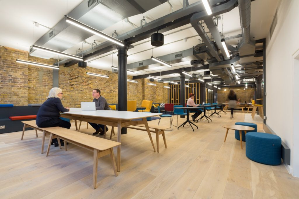Boutique Workplace London Bridge co-working lounge