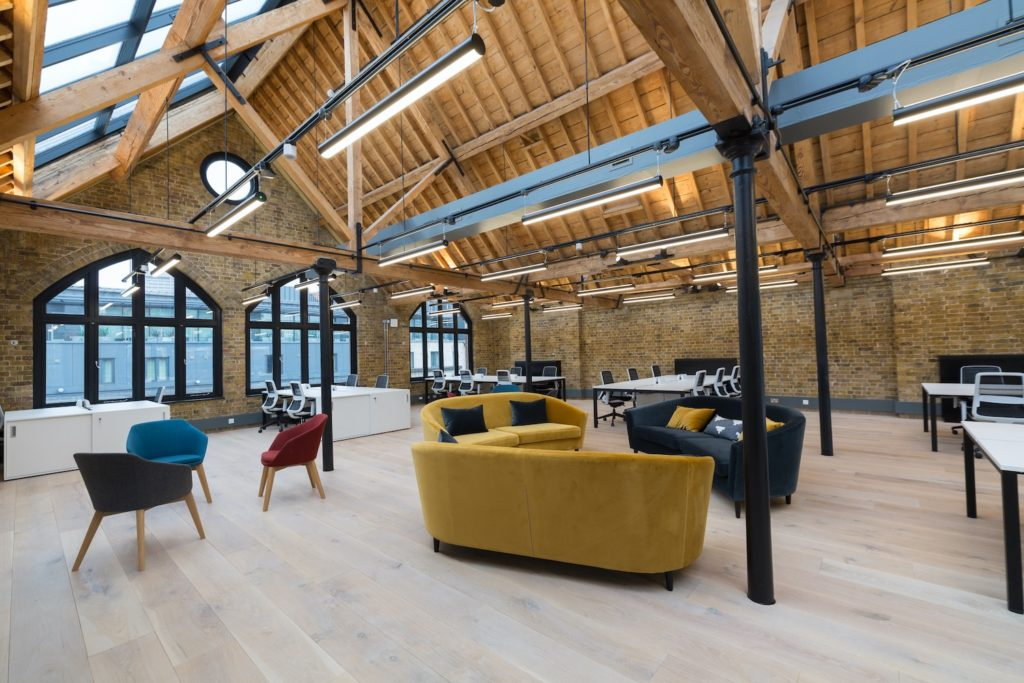 Boutique Workplace London Bridge - penthouse open space