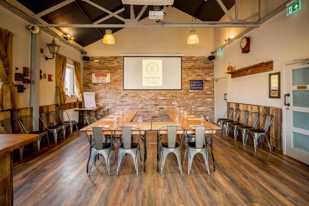 Brewhouse Highbury Meeting space in a U layout