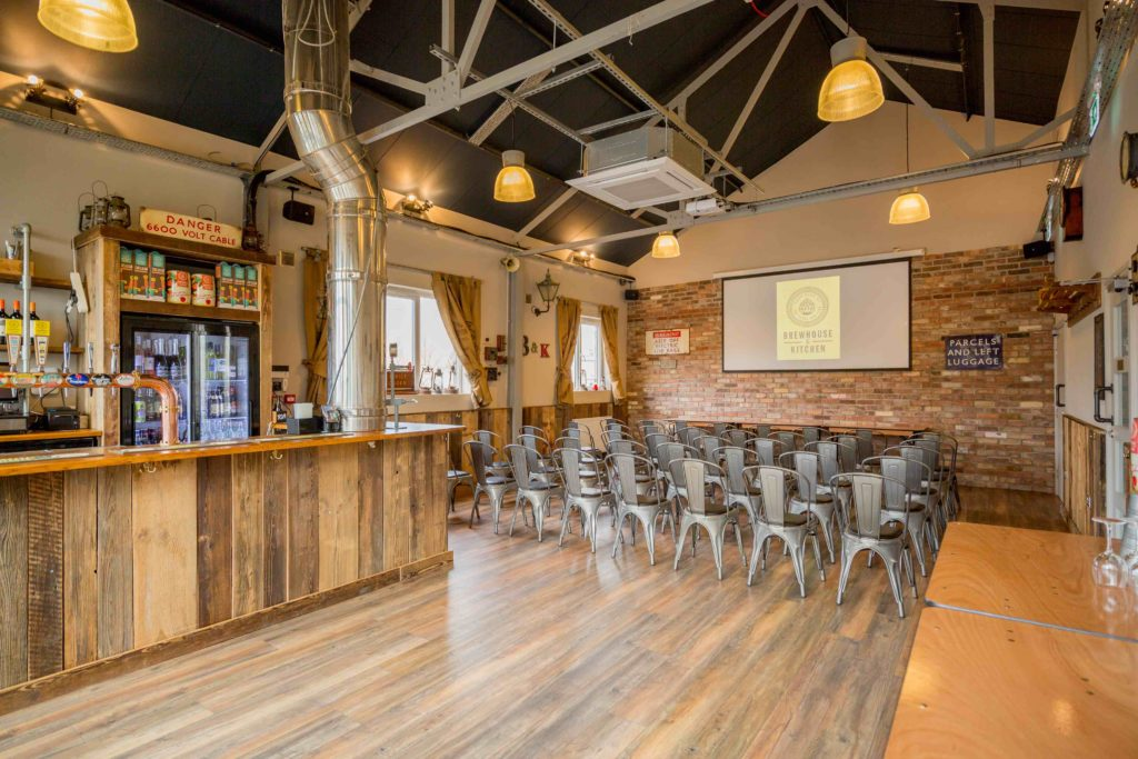 Brewhouse Highbury Meeting space in a theatre layout