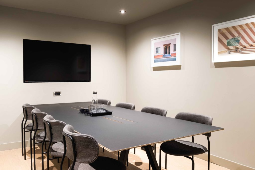 Colony Piccadilly flexible meeting room in Manchester