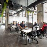 Colony coworking flexible hot-desks