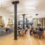 Boutique Workplace Farringdon members coworking lounge