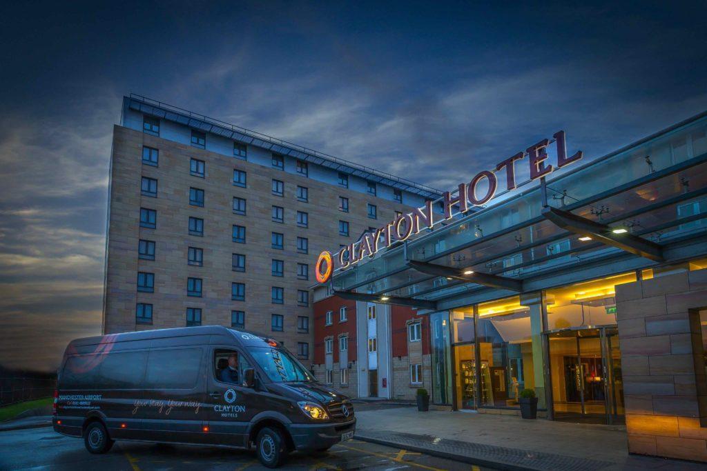 Clayton Hotel Manchester entrance