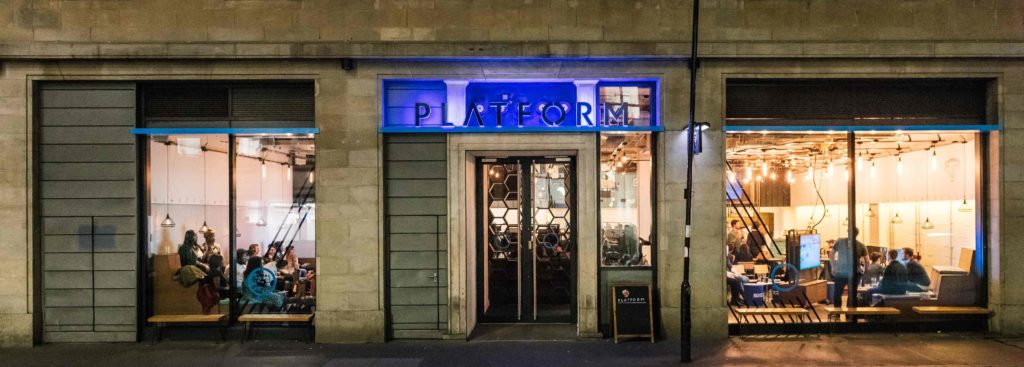 Experience Platform free co working space near Moorgate for remote workers