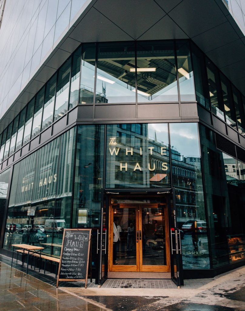 The White Haus free workspace in Farringdon and Blackfriars