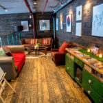 The Refinery mezzanine for private meetings