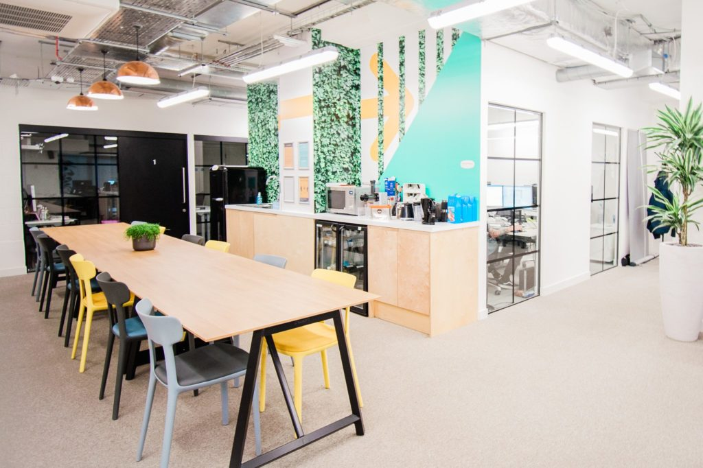 Areaworks Colindale workspace for freelance, entrepreneurs & remote workers in Colindale and near Barnet