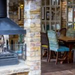The Castle Tooting fireplace