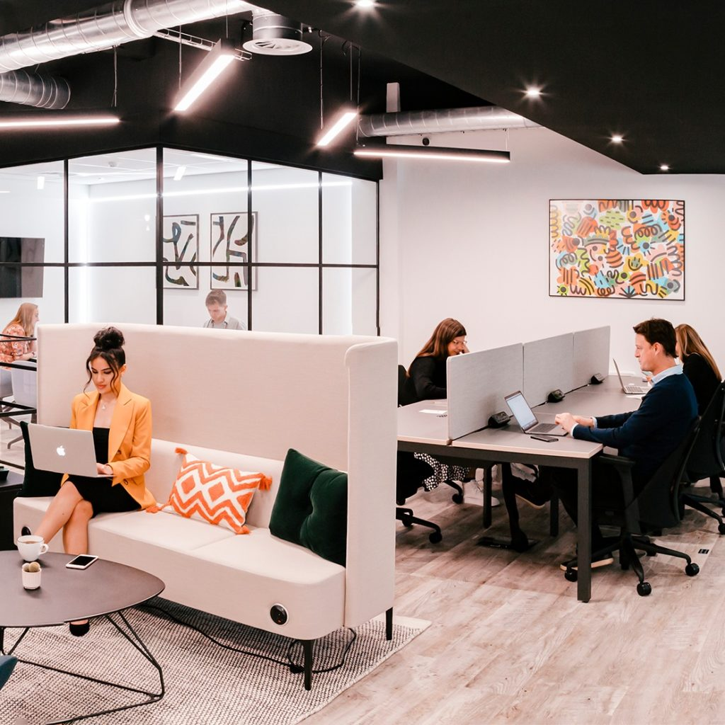 Flagship Manchester flexible coworking space in Northern Quarter