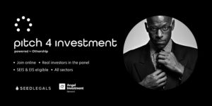 Pitch For Investment Banner Image - an online event for entrepreneurs and start up founders to raise finances