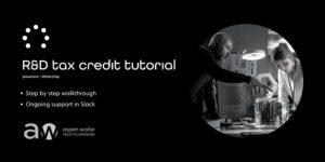 R&D Tax Credits Tutorial