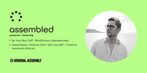 Be your best self event banner - a workshop for Freelancers, Founders and Digital Nomads