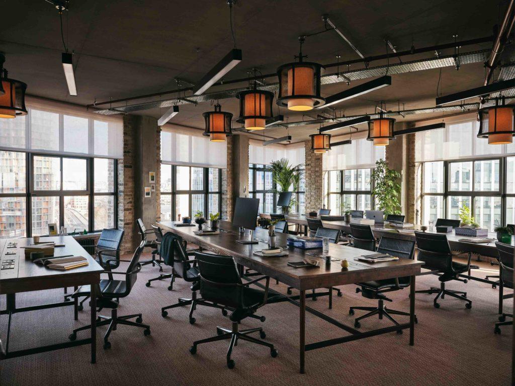 Working From_ hybrid workspace in Blackfriars