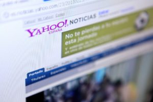 Yahoo in the news