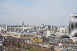Views over London from Working From at The Hoxton