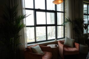 Inside the coworking space Working From at The Hoxton