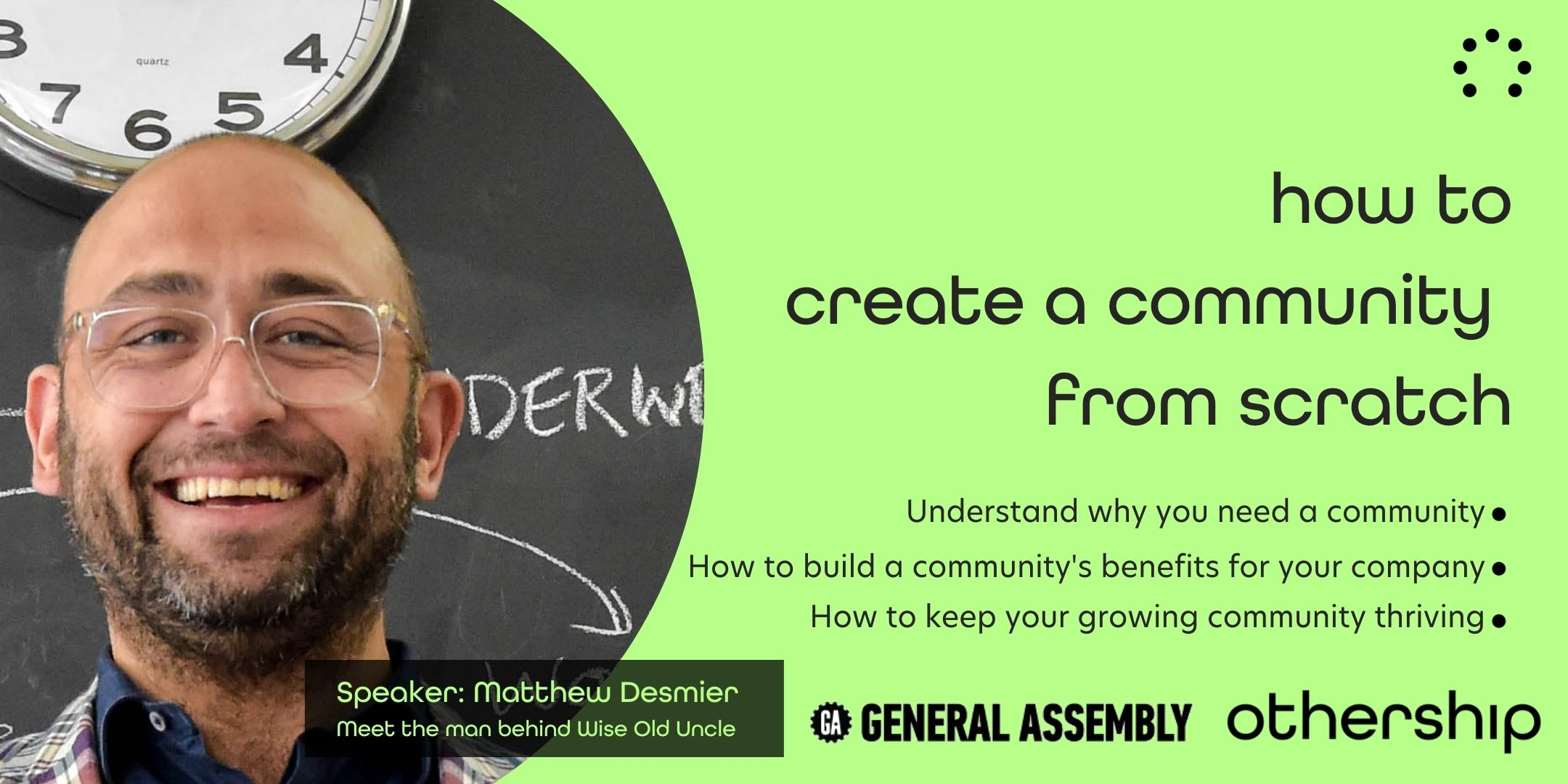 how to create a community from scratch
