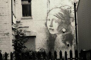 Graffiti in Bristol.