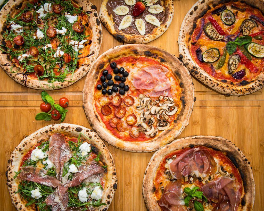 Star Lane Pizza Bar pizzas